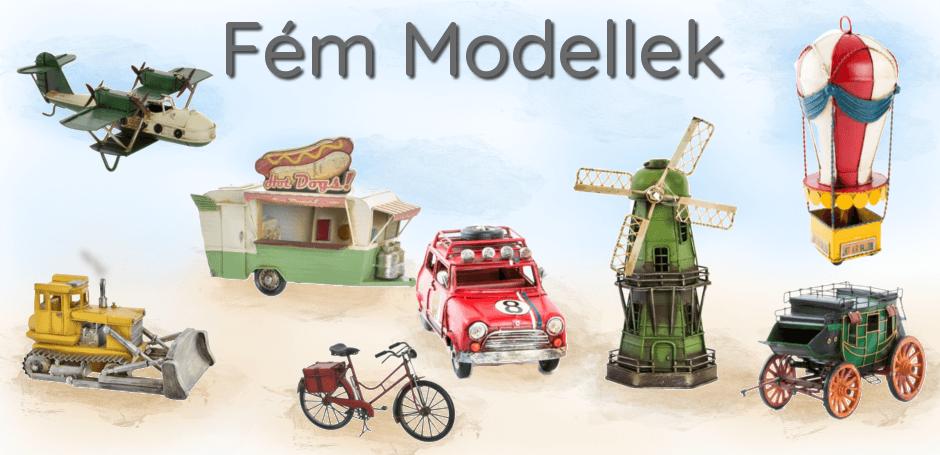 Fém modellek