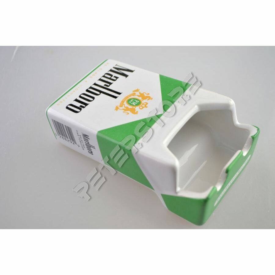 Kerámia hamutartó - Marlboro Zöld